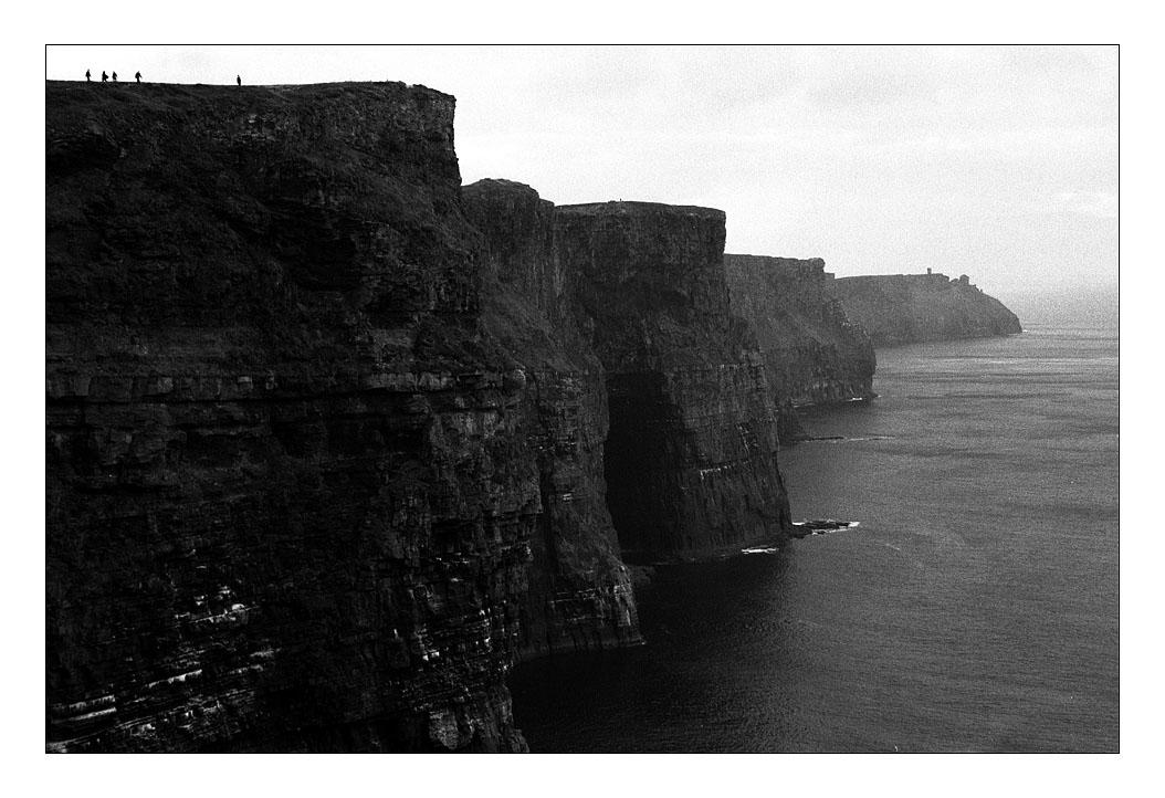 Cliffs of Moher by ash