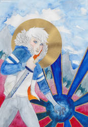 Saint Zacharias by Ashurana