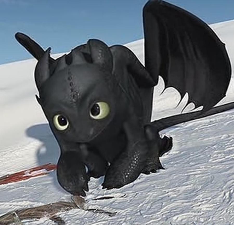 Toothless being soooooooo Cute! by reaper-man170203 on ...