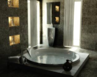 Interior rendering by Tooomyyy