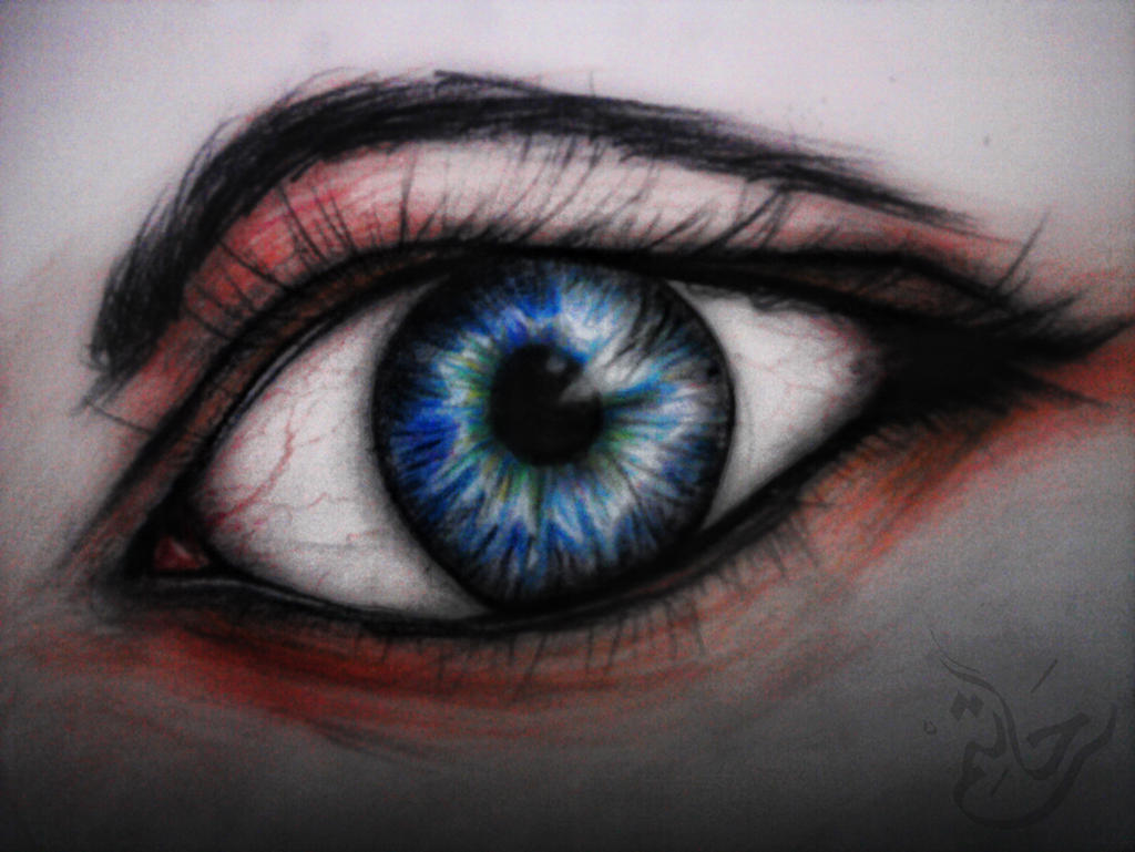colored eye by Tooomyyy