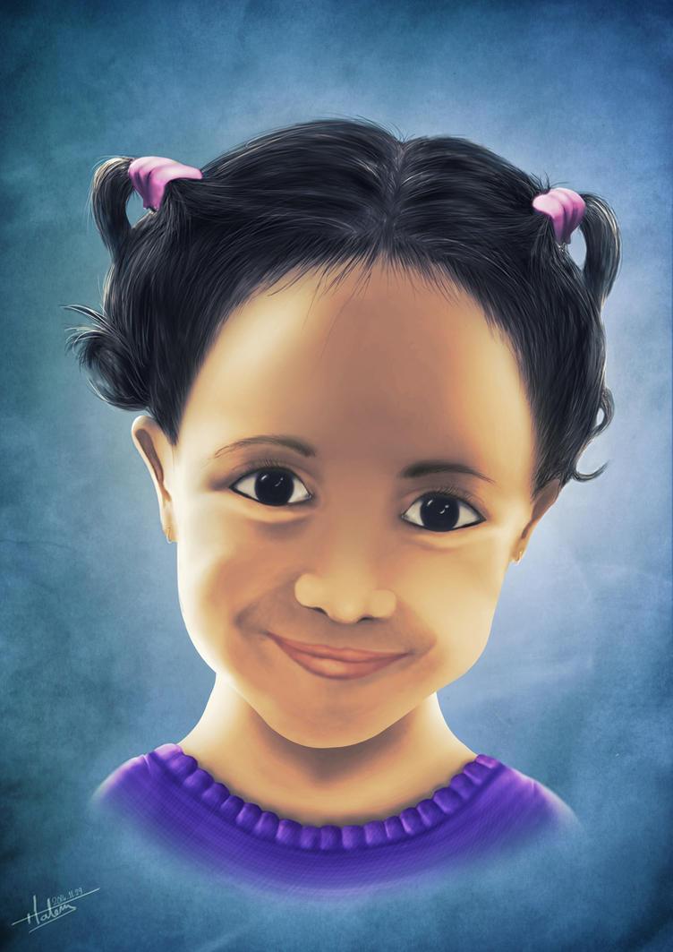 digital portrait by Tooomyyy