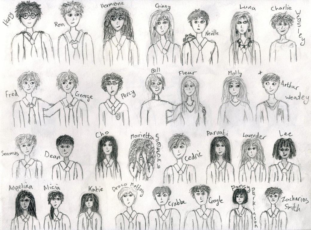 Как рисовать персонажей гарри поттер фильм юрия стоянова и владимир вдовиченков