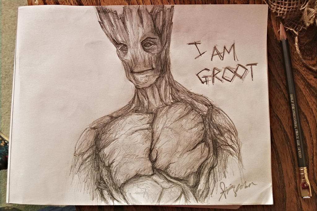 Groot by SquirrelGirl111