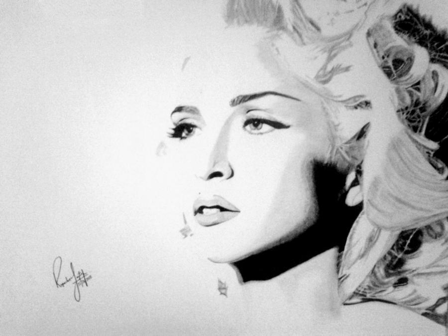 Madonna by rupshree