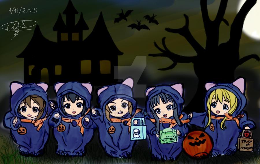 K-on Halloween by BoAyJae