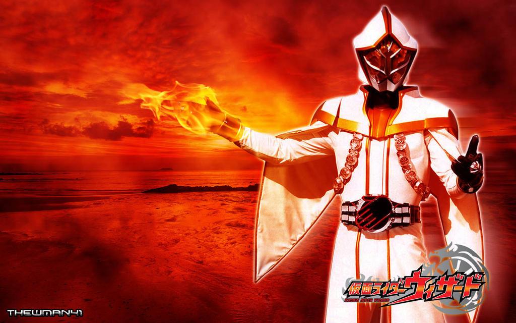 Kamen Rider White Wizard Wallpaper by thewman41 on DeviantArt
