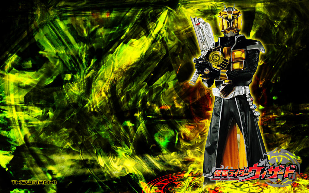 Kamen Rider Wizard Land Style Wallpaper by thewman41 on ...