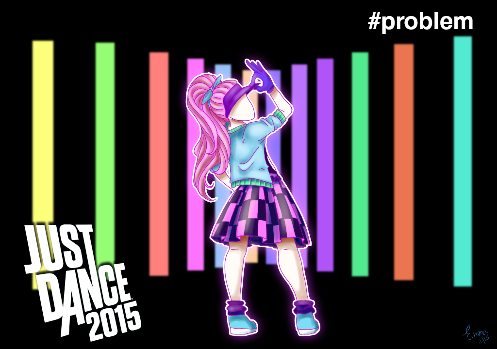just dance 2015 problem by kyle23emma on deviantart. Black Bedroom Furniture Sets. Home Design Ideas