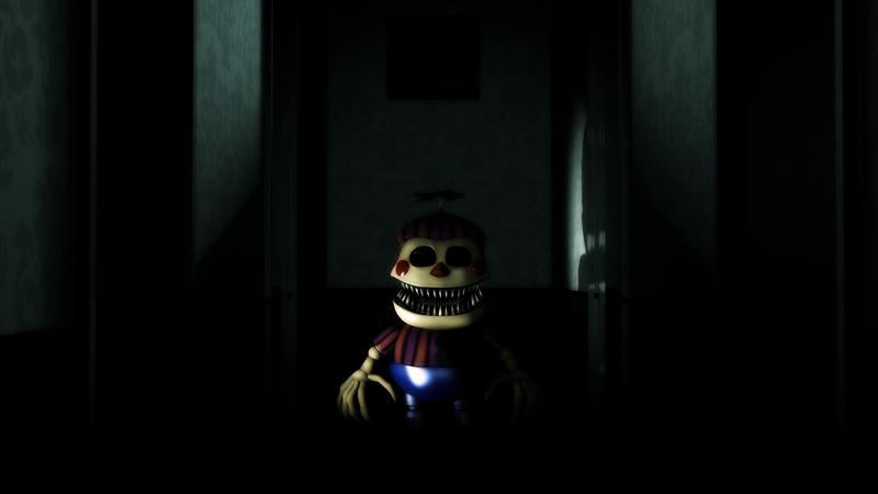 Nightmare BB - FNAF 4 Halloween Update by WilliamDabsALot on ...