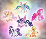 Alternate Rainbow Power Designs