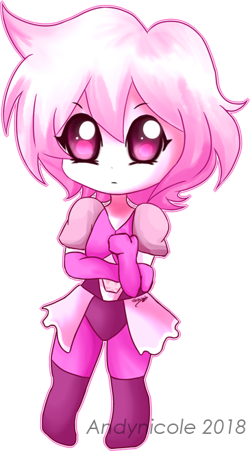 .:chibi -- pink diamond:. by Andynicole