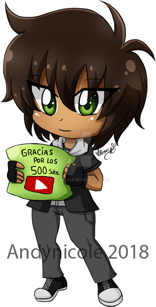 .:500 Subs -- [Special gift for FERPOOL]:. by Andynicole