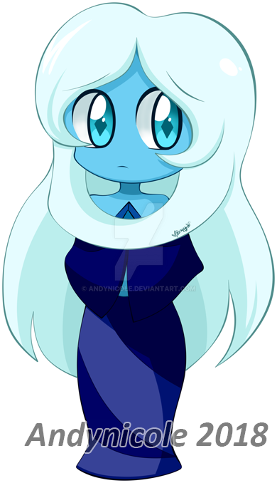 .:Chibi -- blue diamond:. by Andynicole