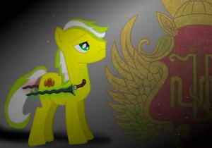 Keraton pony (My OC as a pony)