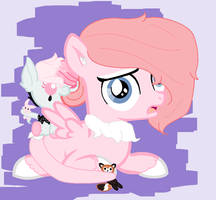 Cry likes BabbleGam :MLP PlushButts: by IvIorgue