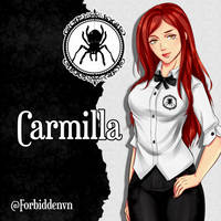 Carmilla by sakura-streetfighter