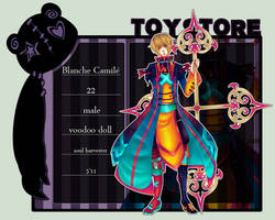 TS: BLANCHE CAMILE by RainyEcstasy