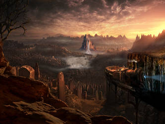 matte painting by Trendykarn