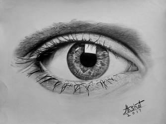 Eye drawing (Graphite)