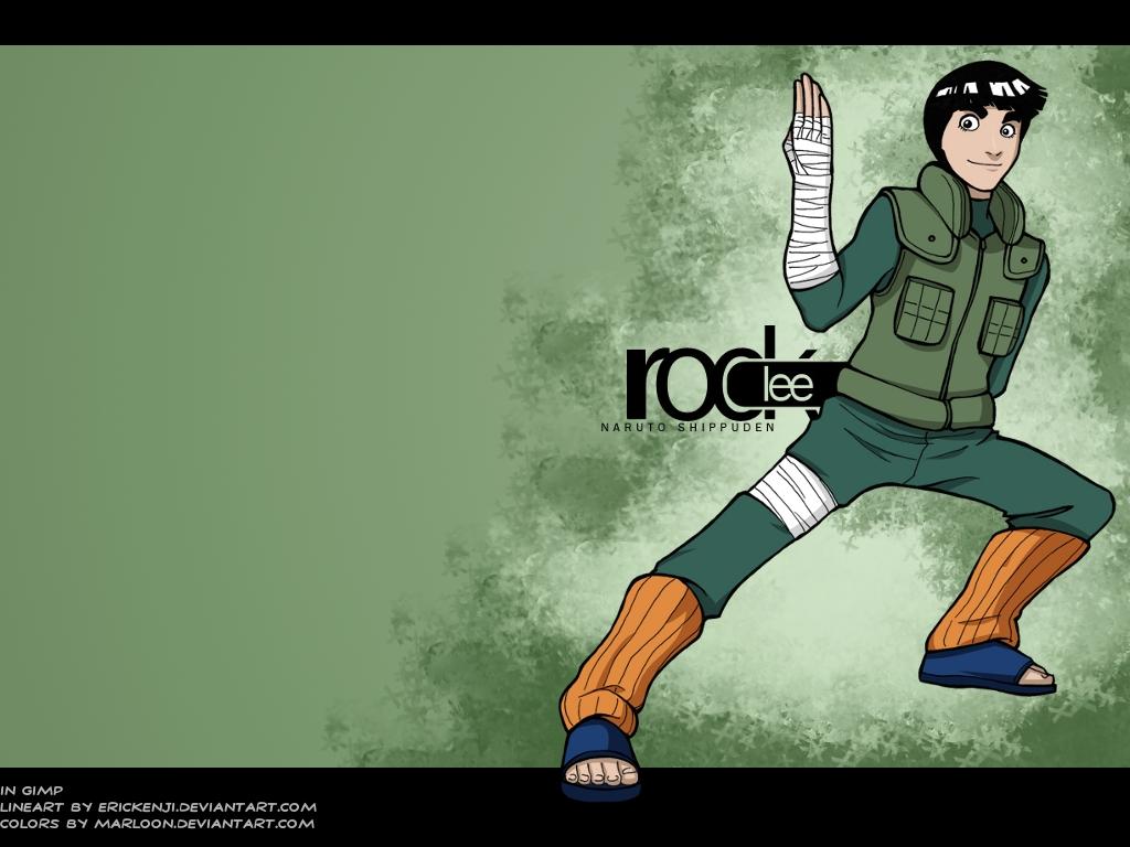 Amazing Wallpaper Naruto Rock Lee - Rock_Lee_Wall_by_marloon  Gallery_723164.jpg