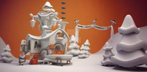 Christmas Workshop Sleigh