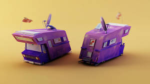 Purple RV by witdrwn-but-alive