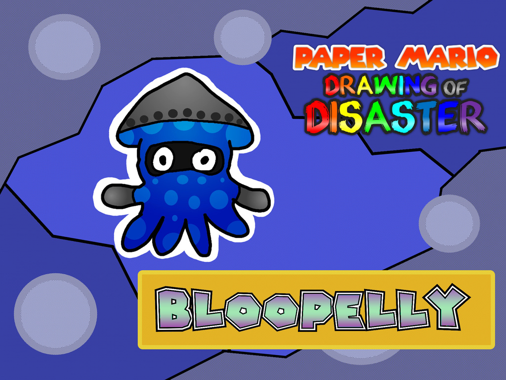 PMDoD: Bloopelly by WarioWules09