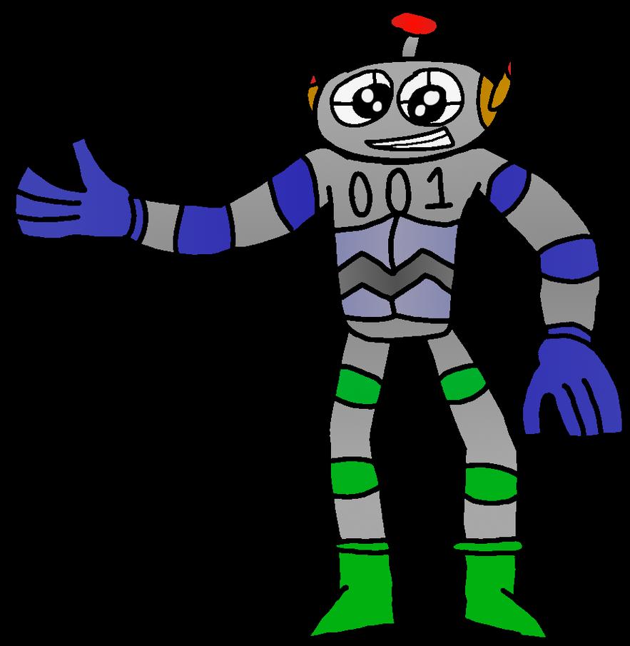 Meta-Form (Original Series Character) by WarioWules09