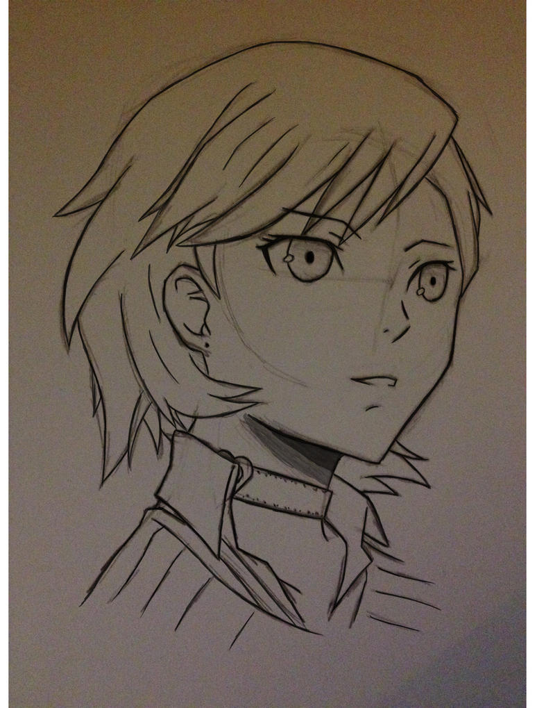 Yukari Takeba Sketch. by forrealsyall
