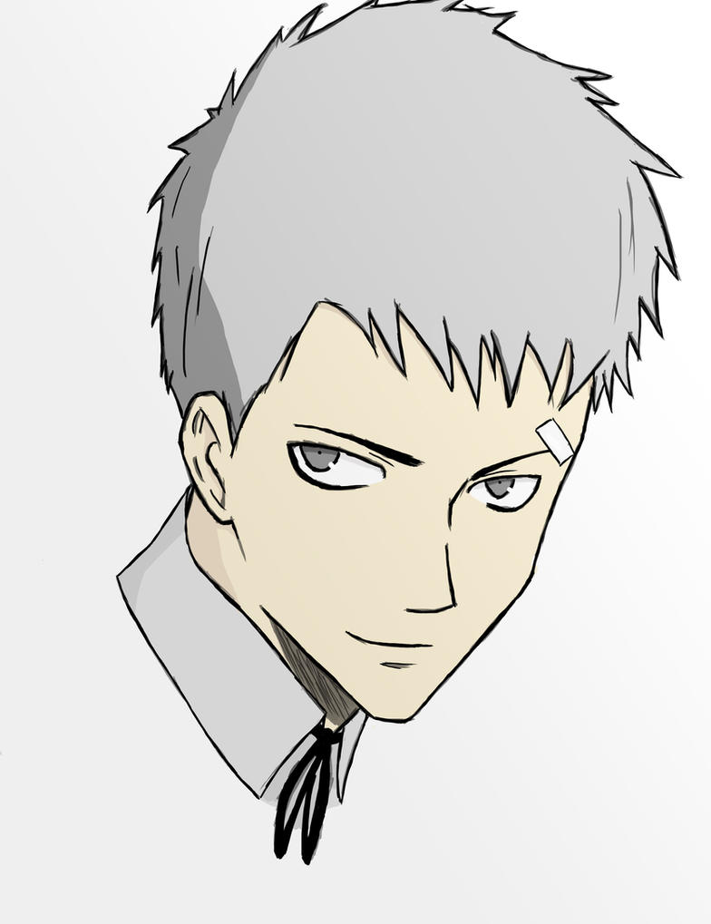 Akihiko (finished sketch) by forrealsyall