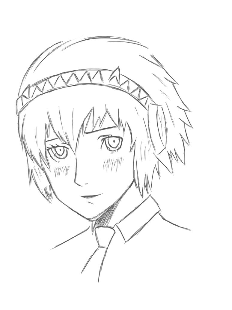 Aigis sketch by forrealsyall