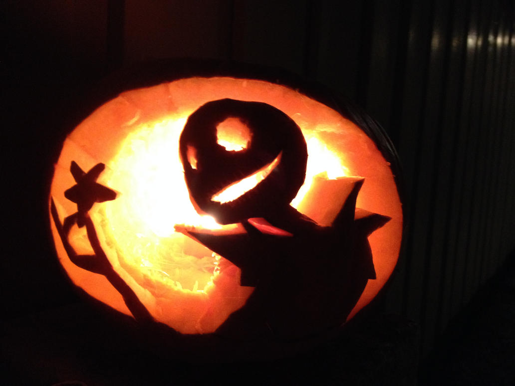 Jack Skellington Pumpkin by forrealsyall