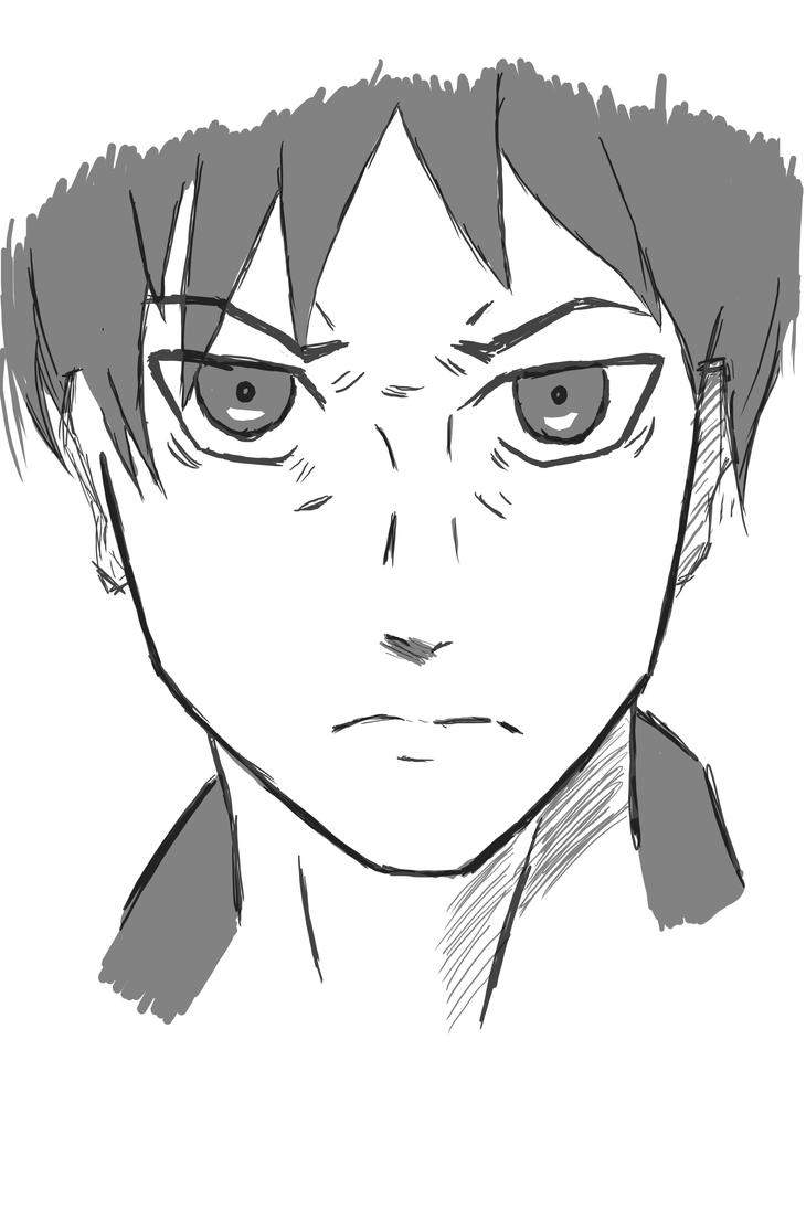 Eren Jaeger drawing by forrealsyall