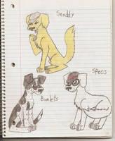 Newsies Dog Form Pg 5 by zybynarx