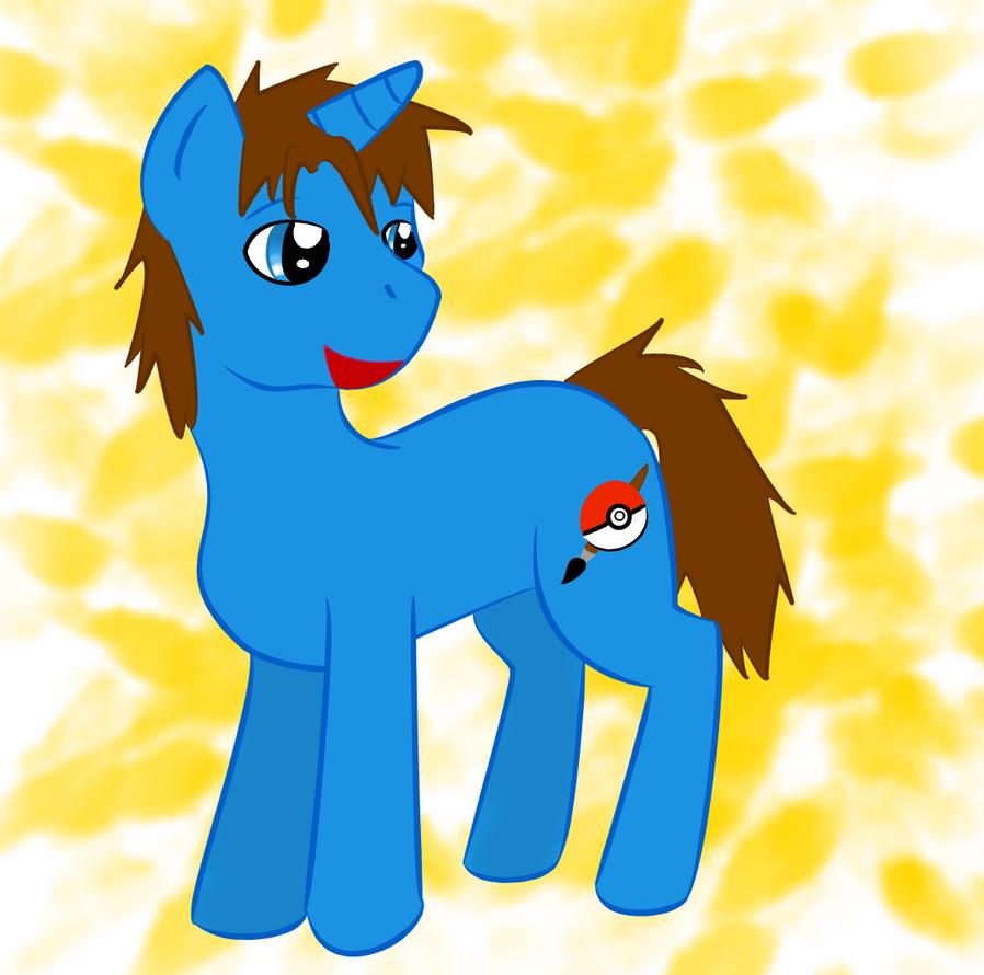 Uchihaguy Pony by zybynarx
