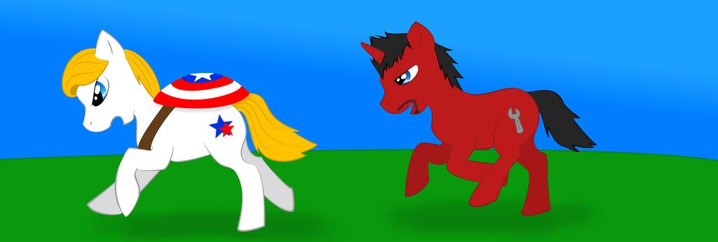 Stony Ponies by zybynarx