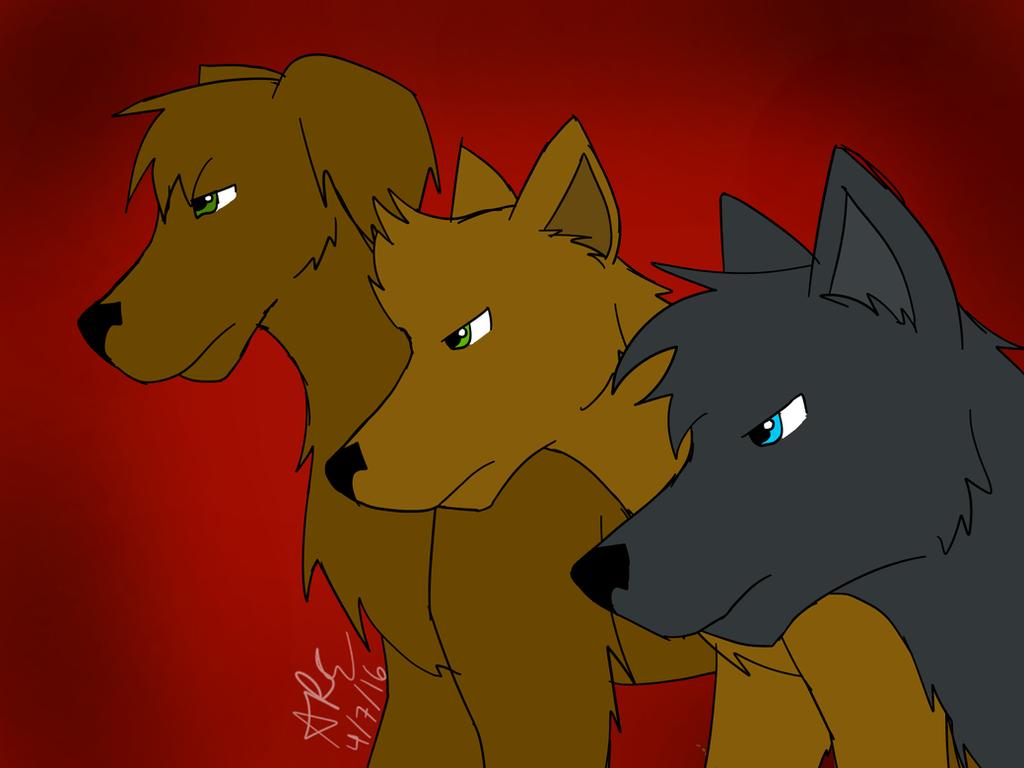 Team Free Will Pups by zybynarx