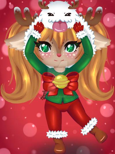 Poppy Navidad by shoudann