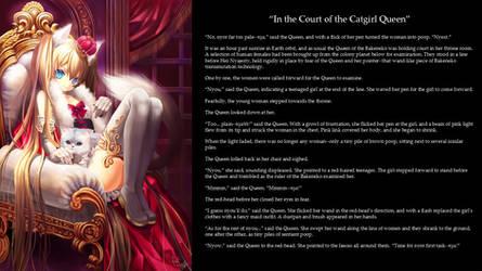 CGI 1 - In the Court of the Gatgirl Queen by QueenNyanlathotep