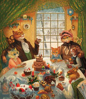 Christmas tea by Xenys