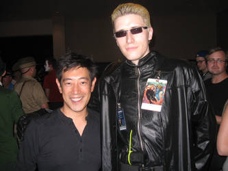 Grant Imahara and Wesker by Kamisamaa