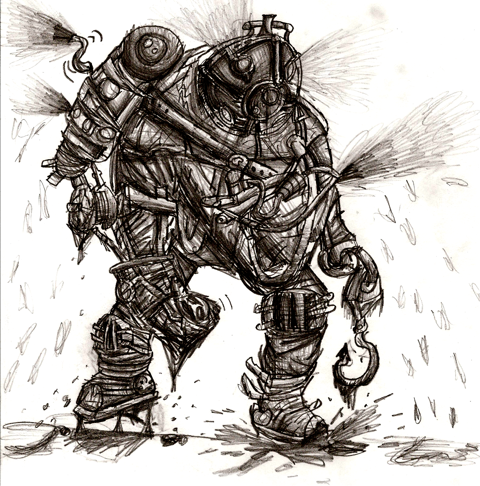 The Rumbler Big Daddy By Tainted Coil On Deviantart