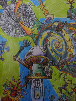 Steampunk Mushroom