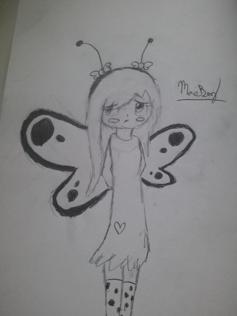 Little Butterfly Girl by Bluebird9209