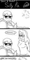 UT Comic: Silly Pie