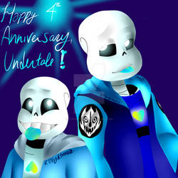 Happy 4th Anniversary, Undertale!