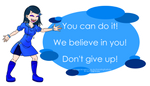 PP Mascot Message #1: Encouragement by RTNightmare