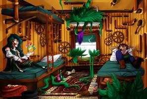 WT: Roommates by SockHedgehog