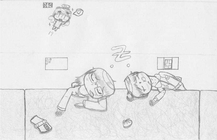 China x Romano- Art Comission by Meli-chan3
